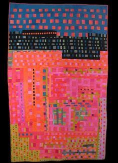 """""""Blocked"""", 2005, 81 x 51"""" by Judy Rush"""