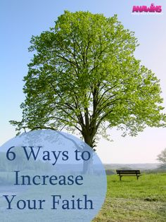 Need some help increasing your faith? Our 6 ways to increase your faith will give you the inspiration that you need!