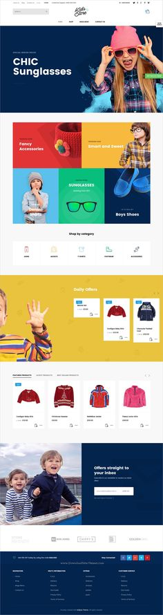 Kallyas is a creative and beautifully design responsive #WordPress theme for #kids #toys #store stunning websites with 35+ multipurpose niche homepage layouts download now➩ https://themeforest.net/item/kallyas-responsive-multipurpose-wordpress-theme/4091658?ref=Datasata