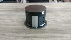 Self rising pop up power tower for desks, tables and kitchens. Power, Data, USB and QI Wireless charging built in. Perfect for Office and home use. Kitchen Pantry Design, Modern Kitchen Design, Interior Design Kitchen, Power Tower, Diy Furniture Table, Meeting Table, Cuisines Design, Wooden Shelves, Kitchen Gadgets