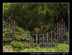 smeedijzeren hek - hekken - fotografie - fotoarchief ...