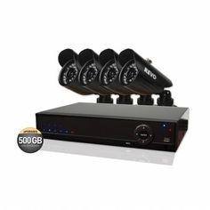 $449.99 - 4 Channel 500GB 960H #DVR #Surveillance System with 4 900TVL Bullet #Cameras 4 Channel, Surveillance System, Security Camera, Cameras, Bullet, Electronics, Backup Camera, Spy Cam, Camera