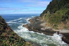 Beautiful Day on the Oregon Coast.