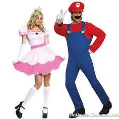 halloween couples costumes mario princess peach - Halloween Costumes 2013