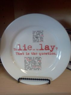 Lie vs Lay      #writing #grammar #punctuation #English #SAT #words