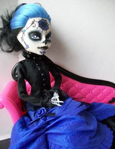 Monster High Custom Reserved Listing for by AdeCiroDesigns on Etsy