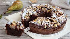 Ciambella soffice al cacao e pere , senza glutine . Un dolce goloso e cioccolatoso , che vi conquisterà al primo assaggio . Scopri come si prepara