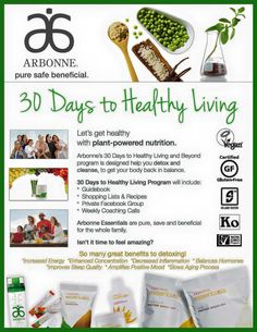 I Love What These Product + This Program Do For People! Ask Me How To  Receive Off For The 30 Days To Healthy Living!