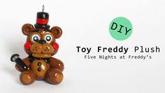 Five Nights at Freddy's 2 Toy Freddy Plush Version Polymer Clay Tutorial