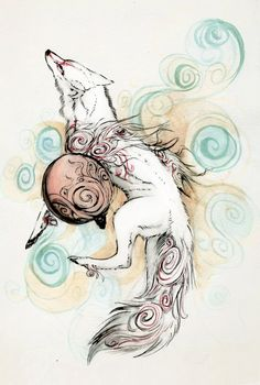 Rising Sun by *TheCollaredCrow. Amaterasu. Okami