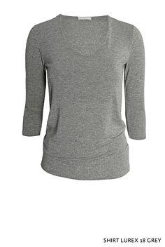 Shirt Lurex 18 Grey von KD Klaus Dilkrath #shirt #lurex #glitter #grey #kdklausdilkrath #top #sweater #fashion #outfit #party #kdklausdilkrath #kd #dilkrath #kd12 #outfit