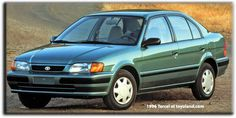 Toyota Tercel history and information