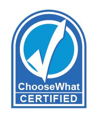 Are you ChooseWhat certified?