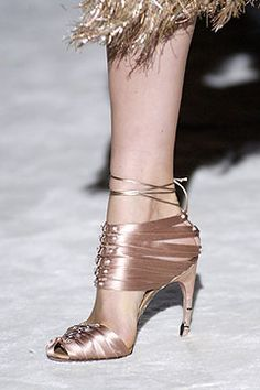 Tom Ford for Gucci Spring/Summer 2004 ... It's taken years to finally find these! Now that I have them... What the hell do I wear them with?!?!