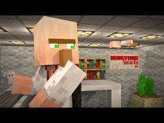 Office Shenanigans - A Minecraft Animation - YouTube  Good for dicussion of professions.
