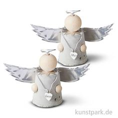 Buy creative handicraft sets online - Angel of good wishes Material set concrete angel - Cement Crafts, Cork Crafts, Easy Crafts, Diy And Crafts, Concrete Art, Poured Concrete, Summer Crafts For Kids, Craftsman Style House Plans, Christmas Crafts