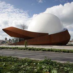 #Architecture - Infoversum Theatre by Jack van der Palen at Archview