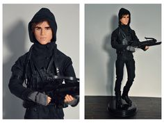 https://flic.kr/p/B1CPSs | Barbie Collector The Hunger Games: Mockingjay Part 2 Gale Doll
