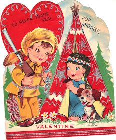 I am lucky enough to have a bag of late 1950's and early 1960's Valentines from my  relatives and my  kindergarten classmates. Here are a ...