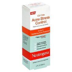 Neutrogena Oil Free Acne Stress Control 3-in-1 Hydrating Acne Treatment 2oz --- http://www.amazon.com/Neutrogena-Stress-Control-Hydrating-Treatment/dp/B0013ER62M/?tag=btscommunication