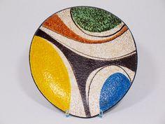Ruscha Keramik Schale Dekor Milano Nr. 709/2