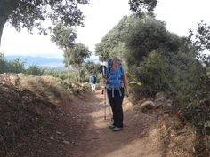 Day 10. After leaving Ventosa we follow natural pathways through the farmlands as we make our way towards Najera.