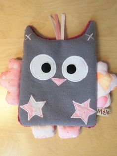 Etsy - Shop for handmade, vintage, custom, and unique gifts for everyone Sewing Projects, Projects To Try, Activity Cube, Bebe Baby, Gris Rose, Boutique, Baby Sewing, Fabric Crafts, Owls
