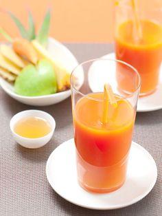 Cocktails : recettes de cocktails festifs - Ananas Pomme Carotte Gingembre