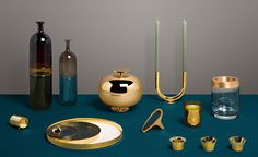 Give a golden gift this holiday with these gleaming goodies in gold, brass, bronze and smokey coloured Venetian glass. Warm, festive and with an enduring appeal, this curated edit of gifts from WallpaperSTORE* can be wrapped and dispatched worldwide at...