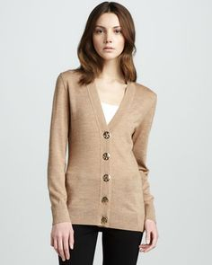 Simone Cardigan by Tory Burch at Neiman Marcus.