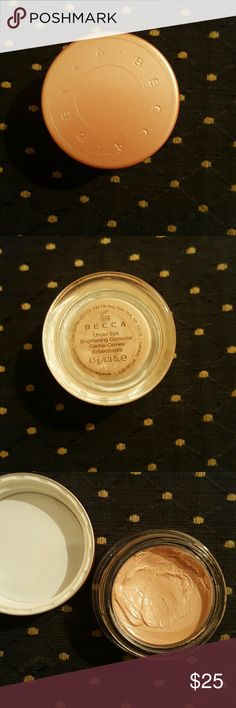 Becca under eye brightening corrector Full size only been used a couple times. BECCA Makeup Concealer