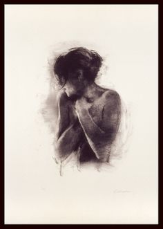 Charlie Mackesy | Antonia |  Limited Edition Signed Lithograph|  74 x 43 cm | £900 (unframed) Charlie Mackesy, Painting & Drawing, Gallery, Drawings, Boudoir, Artist, Art Ideas, Sketches, Lowboy