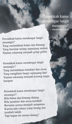 POEM (Bahasa Indonesia) by me
