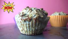 = PROTEIN POW(D)ER !: Zucchini, Pumpkin, and Vanilla Low-Carb Whey Protein Muffins