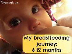 My breastfeeding journey 6-12 months