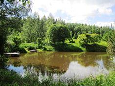 """Oma ranta, tyyppi: järvi"" Golf Courses, River, Outdoor, Outdoors, Outdoor Games, Outdoor Living, Rivers"