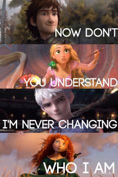 THE BIG FOUR ~ imagine dragons love it! My favorite band plus one of my fav fandoms! Disney Pixar, Disney Jokes, Disney Facts, Disney Marvel, Disney And Dreamworks, Sad Disney Quotes, Disney Characters, Imagine Dragons, Jack Frost