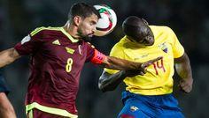 Ecuador venció 3-1 a Venezuela y se mantiene como líder de las Eliminatorias Rusia 2018