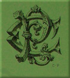 BIBLIOTYPES: MONOGRAMAS - DEMENGEOT Ch. ( II )