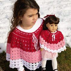 Free Crochet Pattern & Yarn Review – Abby's Poncho