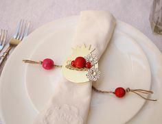 Rosh Hashanah DIY napkin rings...