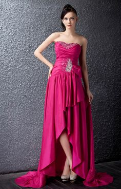 Dramatic Asymmetry Sleeveless Strapless Beading Sweetheart Polina's Party/Evening Dress 7923630 - 2013 Prom Dresses - Dresswe.Com