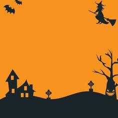 convite laranjado Halloween Themes, Happy Halloween, Halloween Decorations, Halloween Party, Wicca, Invitations, Invite, Drawings, Backgrounds