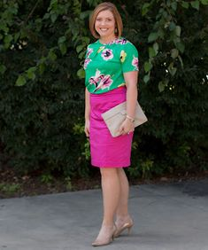 Savvy Southern Chic: Bright and floral