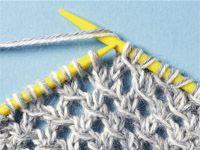 Lace Knitting, Knitting Stitches, Crochet Lace, Crochet Chart, Drops Design, Knit Patterns, Needlework, How To Make, Crafts