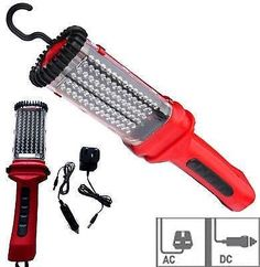 78 LED RECHARGEABLE CORDLESS WORK LIGHT INSPECTION LAMP WORKLIGHT 12V MAGNETIC in Vehicle Parts & Accessories, Garage Equipment & Tools, Other Garage Equipment & Tools | eBay