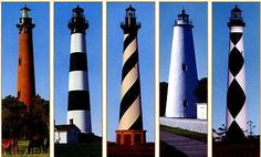 lighthouses in north carolina outer banks | ... the Carolinas: Lighthouses of the Outer Banks, North Carolina