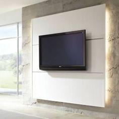 ELESGO HDM CINEWALL WOHNWAND TV LCD PLASMA FERNSEHWAND INKL. 2 UNI-CLIPS !!!!!!!