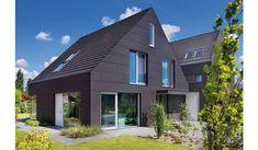 Fassadentechnik - Zimmerei Pfeiffer Utrecht, Parasol, Outdoor Decor, Home Decor, Home, Wood Facade, Cement, Brick, Netherlands