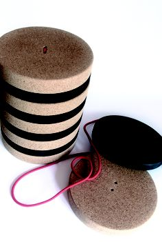 TORONTO (product of MADE DESIGN by PLANNING SISPLAMO) is a detachable and adjustable stool designed specially for kids. The main raw materials are discs of cork and foam, both 100% recyclable and non-toxic.     TORONTO is a piece of furniture and a toy at the same time. It is multifunctional transformable furniture designed to drive kids in their growth, in intuitive fun way. It helps them to strengthen fundamental skills such as movement, coordination and manipulation.
